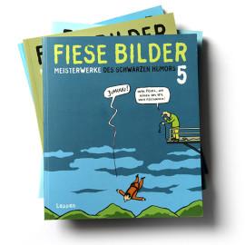 Cartoonsampler Schwarzer Humor von den besten Cartoonisten Deutschlands  Lappan 255 Seiten | softcover | je € 9,95