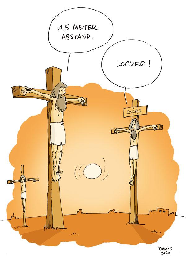 Zur Kreuzigung?